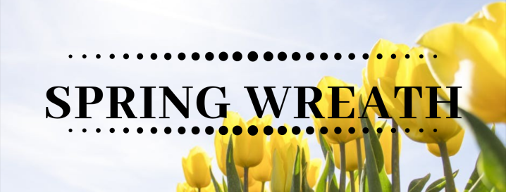 Interchangeable Wreath: Spring